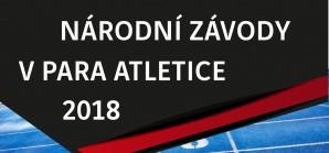 Národní závody v para Atletice 2018