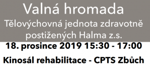 Valná hromada TJ Halma 2019